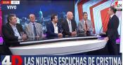 Bárbaro, Wiñazki, Tetaz, De Rosa y Berensztein sobre las escuchas a Cristina