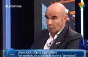 Gómez Centurión hizo su descargo en La Cornisa TV